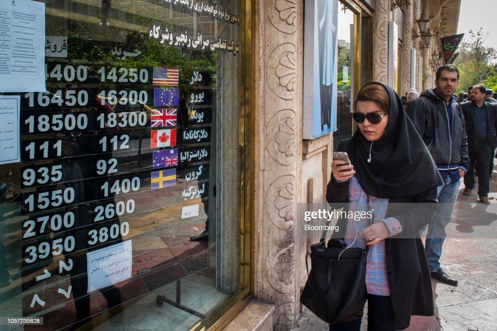 Iran Economy Ahead Of Second Round Of U.S. Sanctions : News Photo