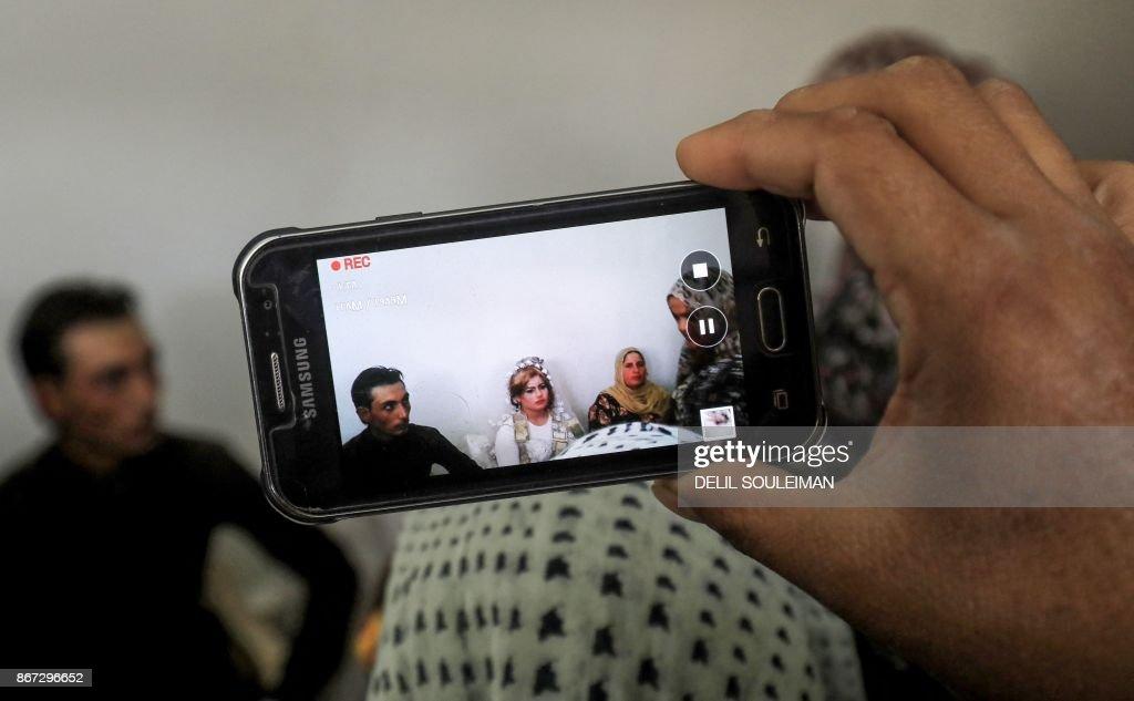 SYRIA-RAQA-WEDDING : News Photo