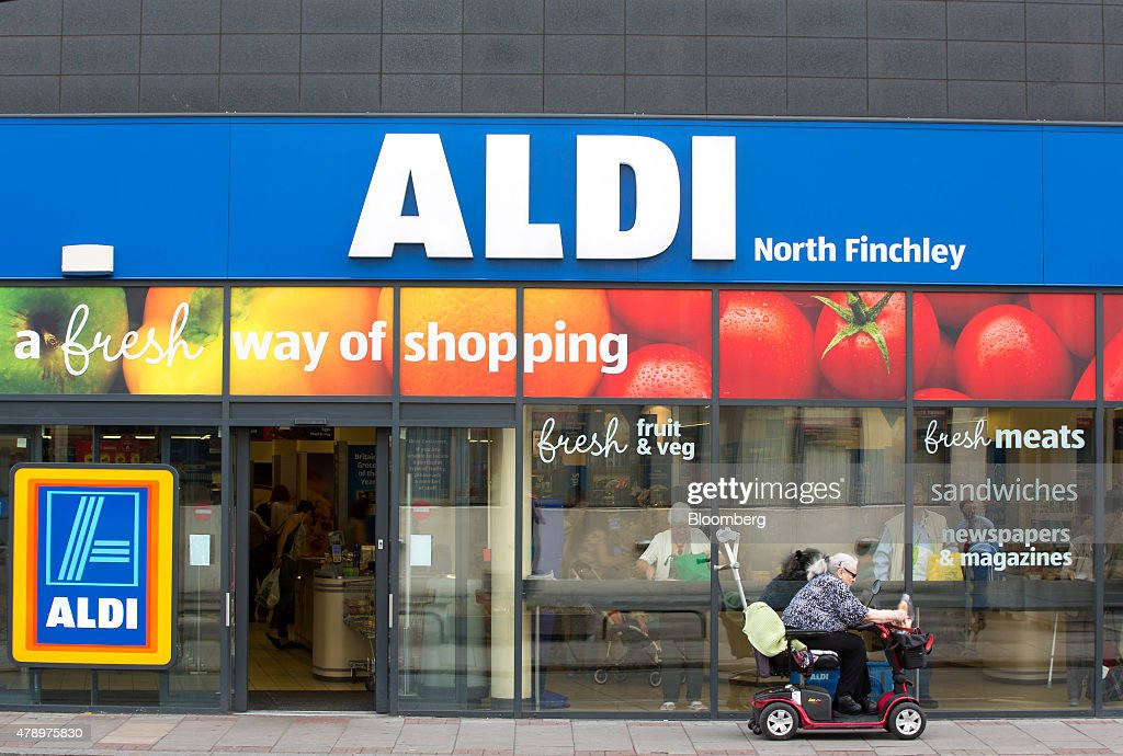 Inside Aldi The German Discount Supermarket : News Photo
