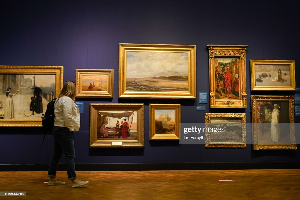 Newcastle's Laing Gallery Re-opens To The Public : News Photo