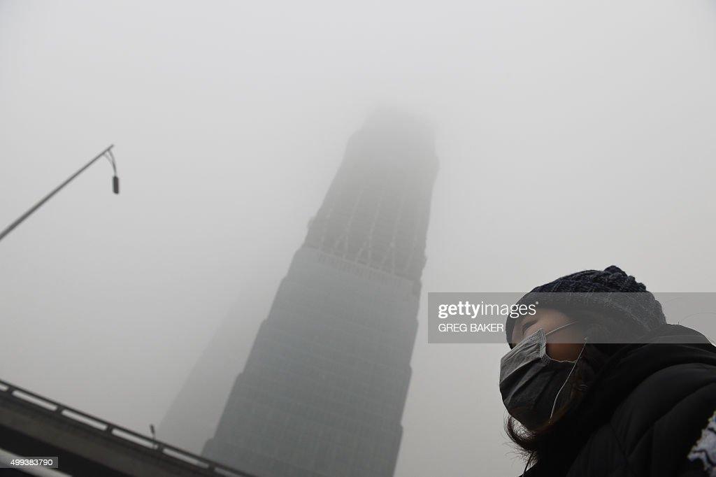 CHINA-CLIMATE-WARMING-UN-COP21 : News Photo