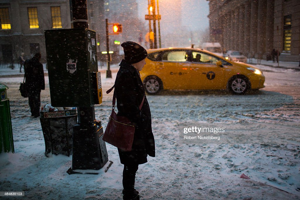 Strong Winter Storm Bears Down On Northeastern U.S. : News Photo