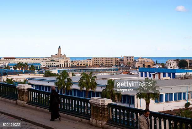 Woman walking in Algiers - Algeria
