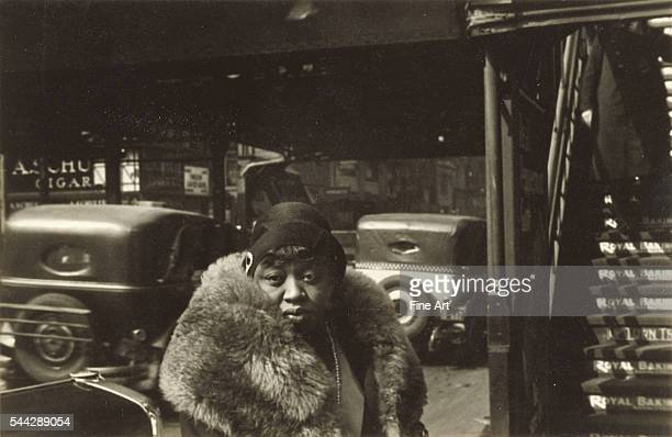 Walker Evans Sixth Avenue and FortySecond Street silver print 121 x 186 cm J Paul Getty Museum Los Angeles