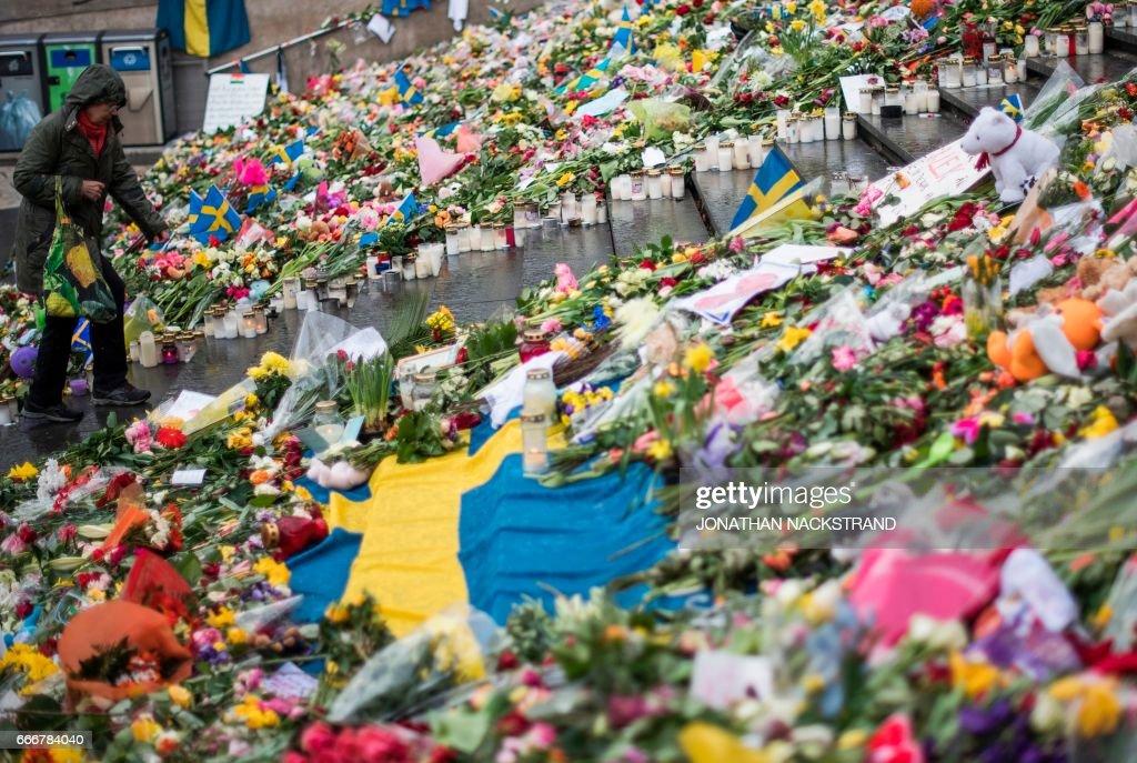 SWEDEN-ATTACK : News Photo