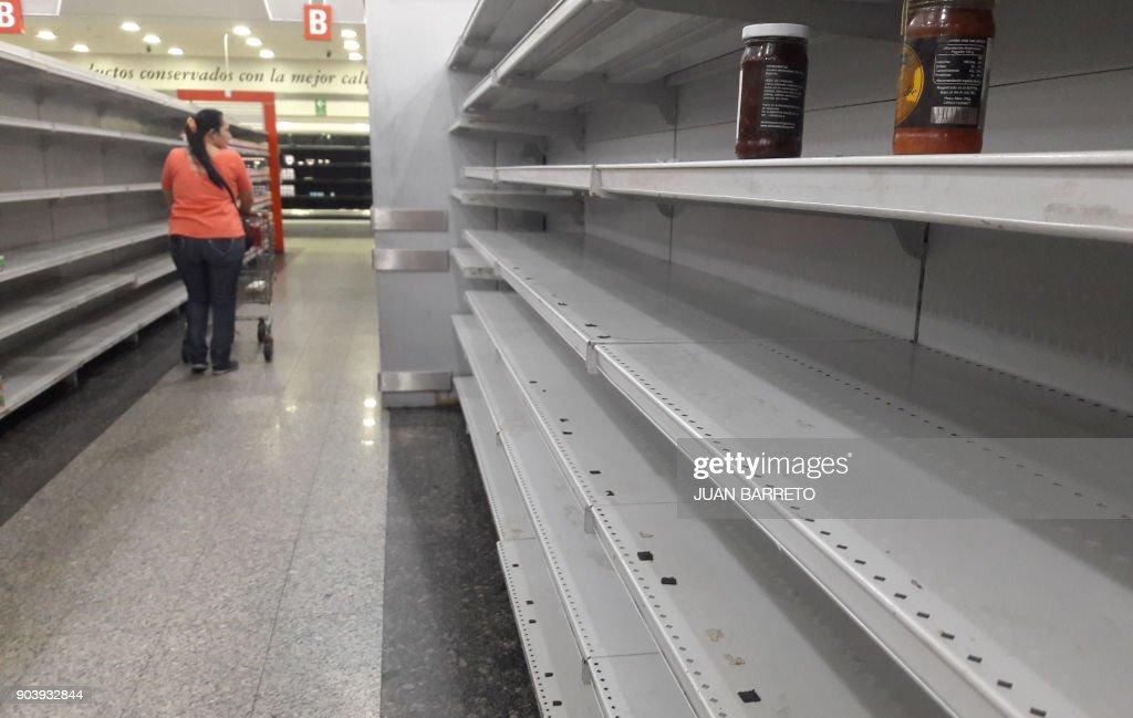 VENEZUELA-CRISIS-FOOD : News Photo