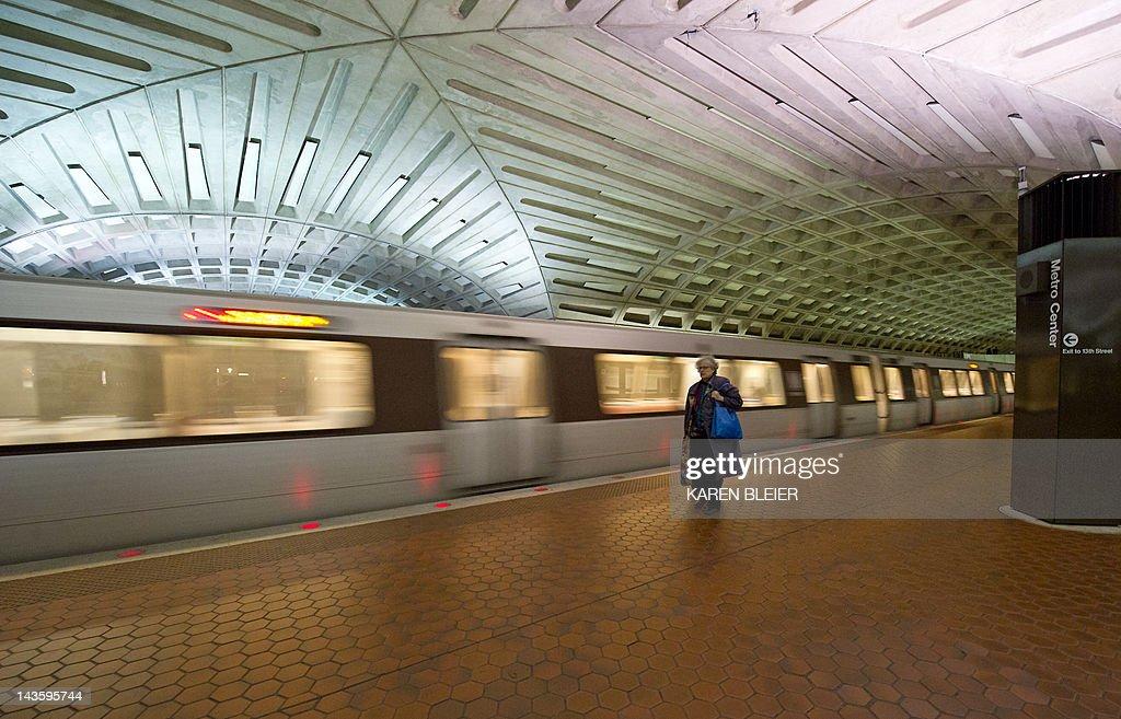 US-TRANSPORTATION-METRO : News Photo