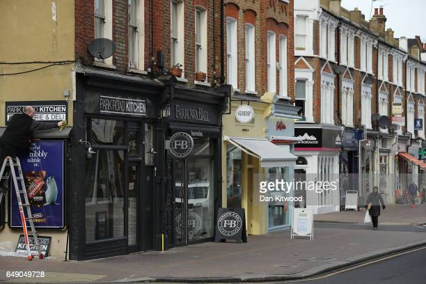 A woman walks down Northcote Road high street on March 7 2017 in London England Business premises are to be revalued from April 1 In areas where...