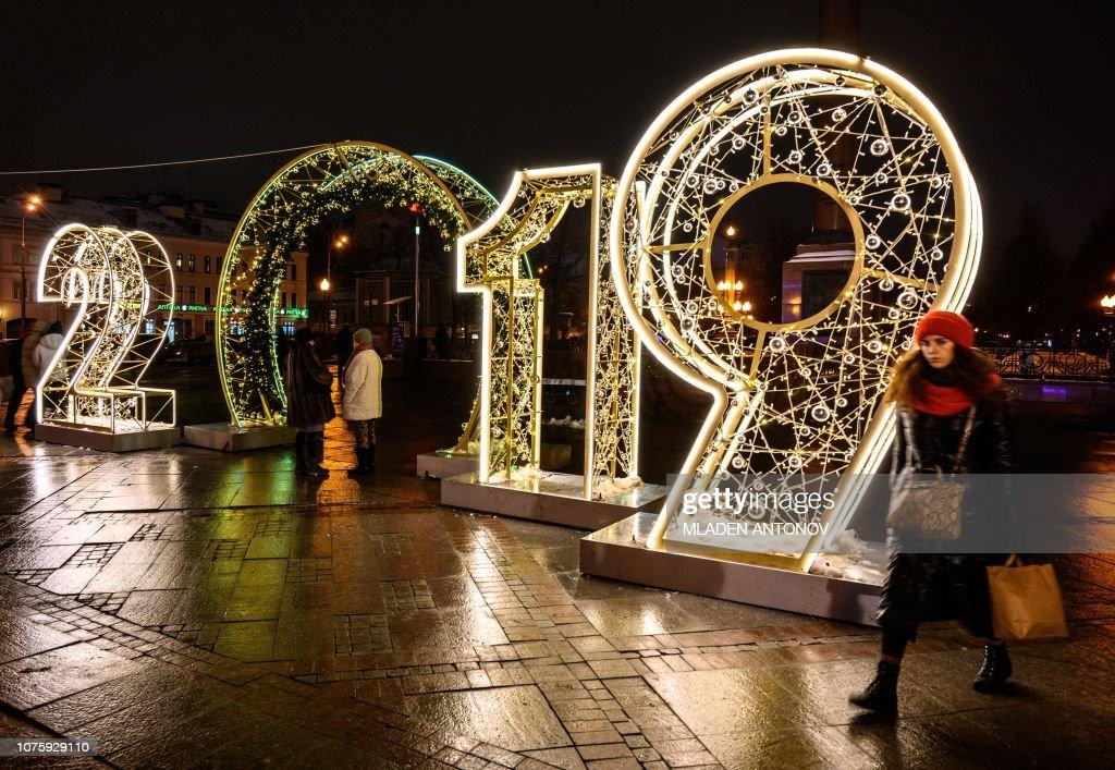 RUSSIA-NEW YEAR : News Photo