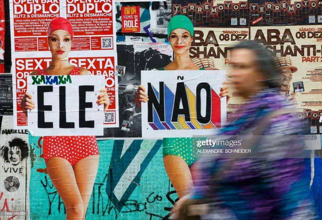 BRAZIL-ELECTION-VOTING : News Photo