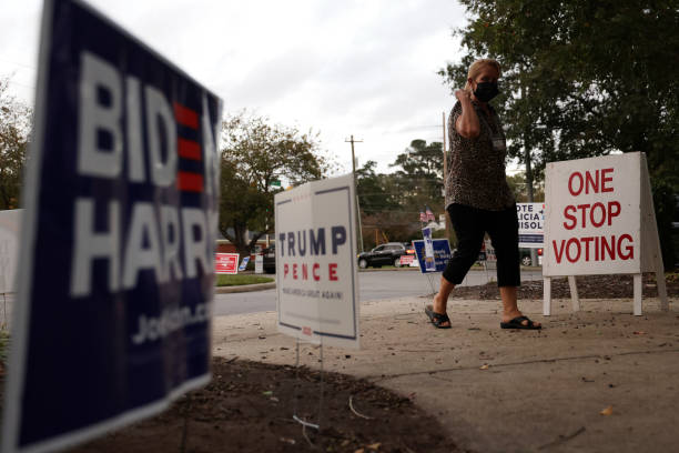 NC: Swing State North Carolina Heads Into Final Weekend Before Election Day