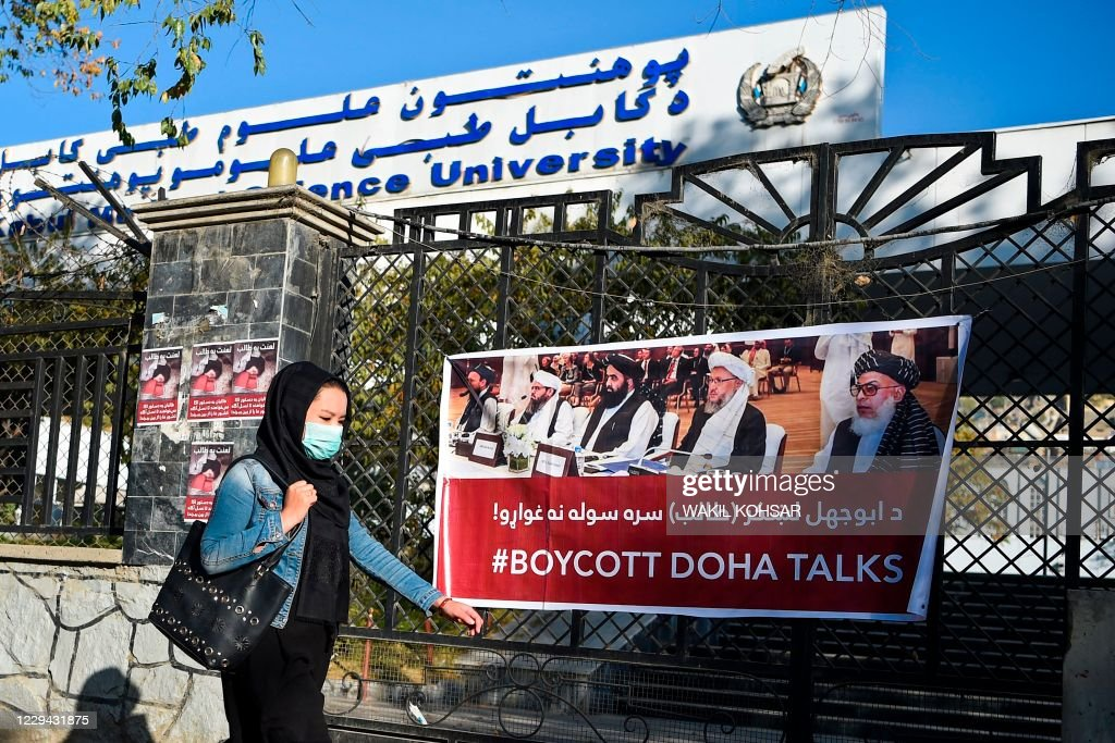 AFGHANISTAN-CONFLICT-ATTACK-UNIVERSITY : News Photo