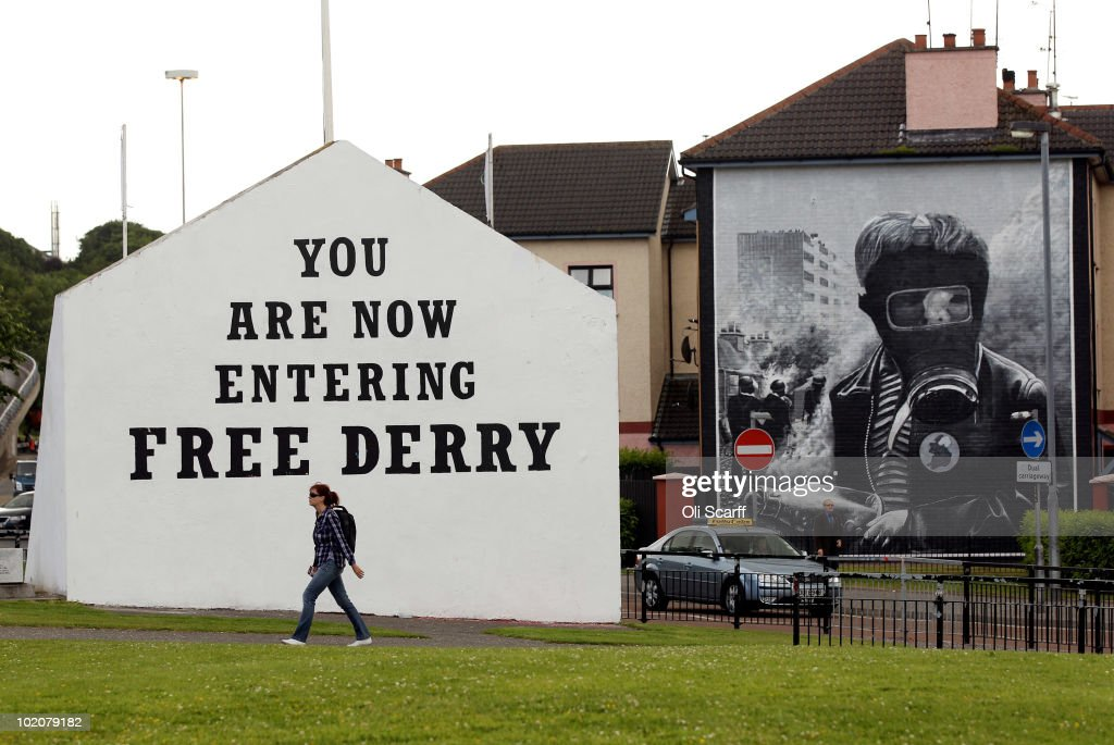 The People of Derry Prepare For The Bloody Sunday Inquiry To Be Released : News Photo