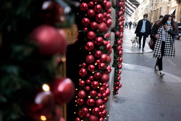 ITA: Christmas Season Amid Covid-19 Pandemic In Rome