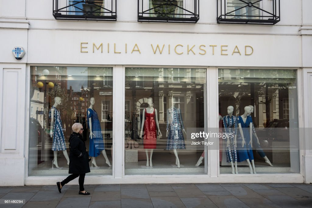 Store Fronts Of Rumoured Royal Wedding Dress Designers