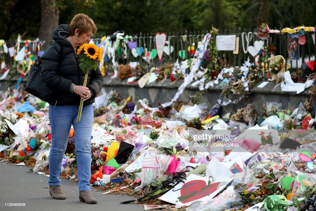 NZEALAND-ATTACK-MOSQUE-REMEMBRANCE : News Photo