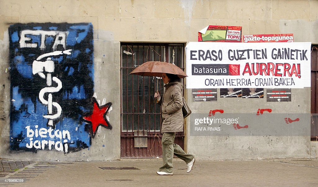 SPAIN-BASQUE-ETA-CEASEFIRE : News Photo