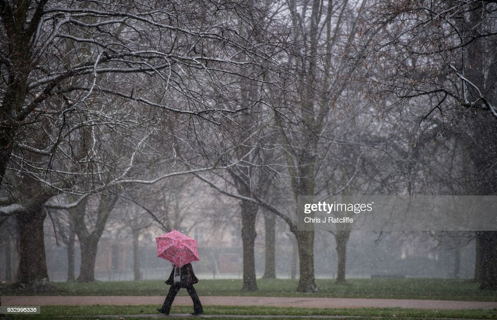 Mini Beast From The East Weather Front Visits Britain