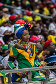 soweto south africa woman watches from