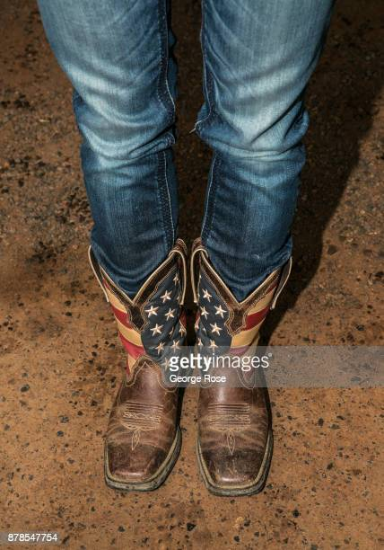 860dd094216 52 Blue Cowboy Boots Women Pictures, Photos & Images - Getty Images