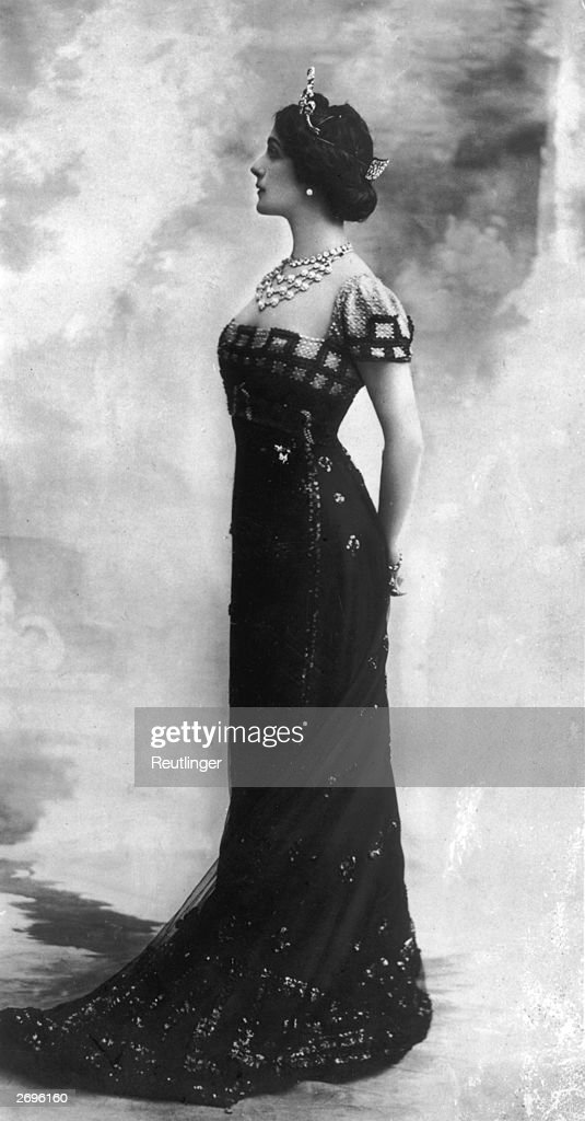 Edwardian Dress : News Photo