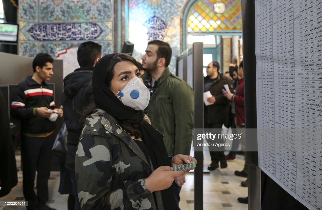 11th Parliamentary elections in Iran : News Photo
