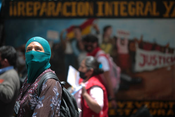 BOL: Demonstrations On International Women's Day in La Paz