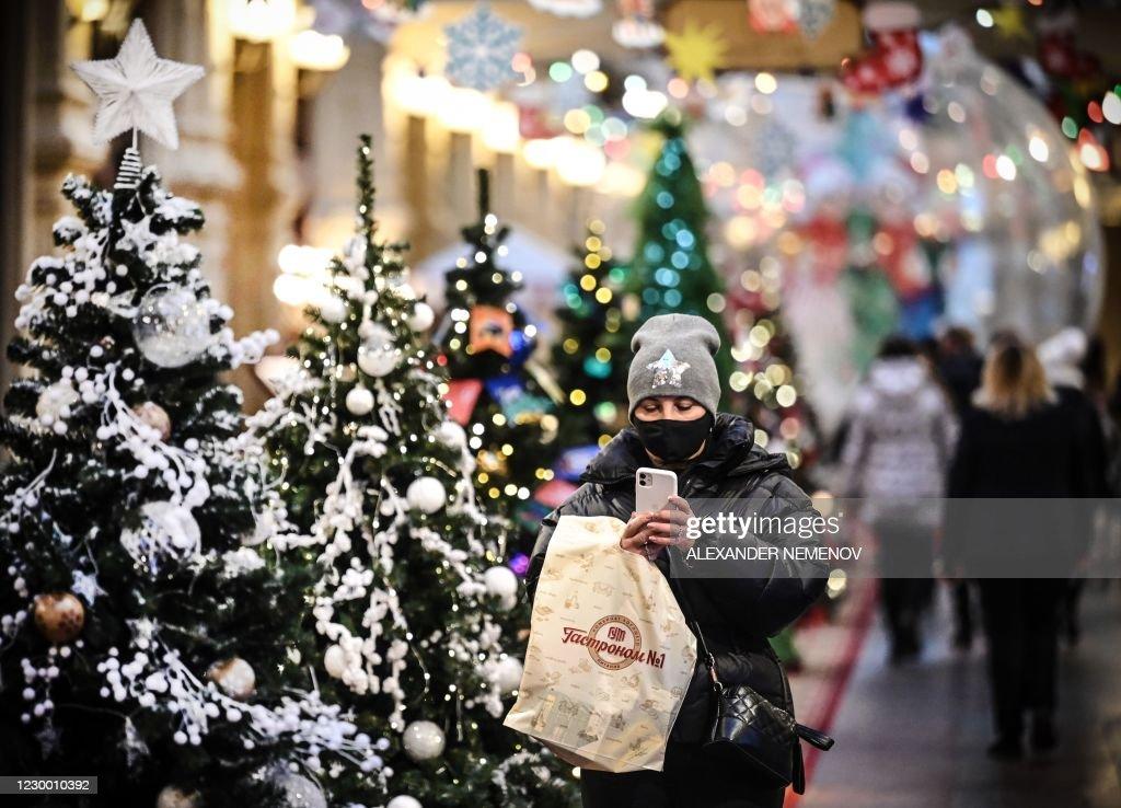 RUSSIA-HEALTH-VIRUS-CHRISTMAS : News Photo