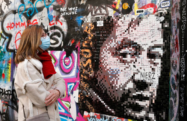 FRA: Fans And Artists Pay Tribute To Serge Gainsbourg On The 30th Anniversary Of His Death