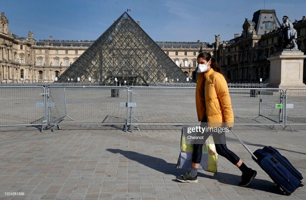 France Organizes Gradual Exit From Coronavirus Lockdown : News Photo