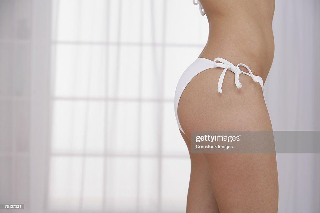 Woman wearing bikini : Stockfoto