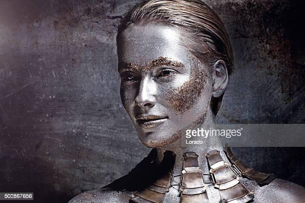 woman wearing luxury necklace
