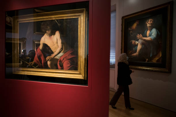 ITA: Caravaggio Exhibition At The Musei Reali (Royal Museums) In Turin