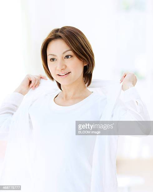 Woman Wearing Shirt