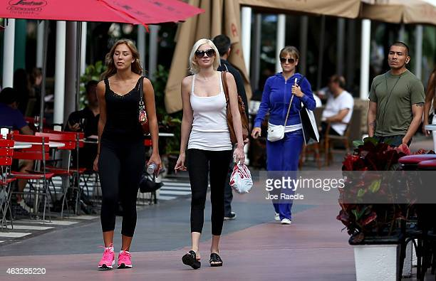 Woman wearing yoga pants walk down the street on February 12 2015 in Miami Beach Florida On Tuesday Montana state Rep David Moore introduced a bill...