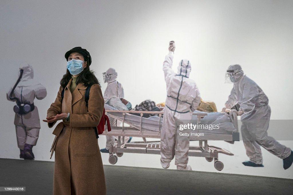World Health Organization Team Work In Wuhan : News Photo