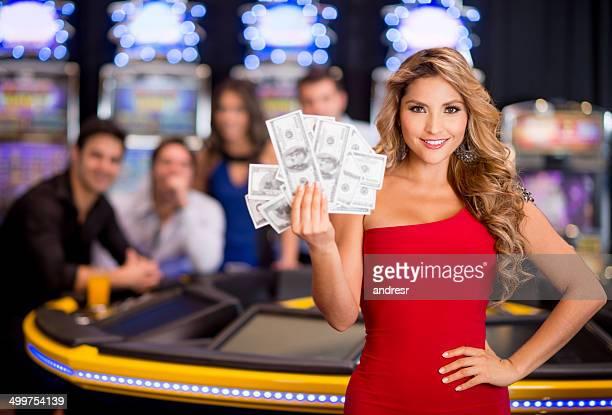 多彩な受賞歴を誇るカジノで女性