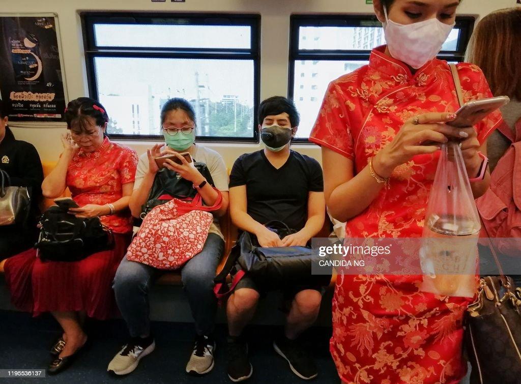 TOPSHOT-THAILAND-CHINA-HEALTH-VIRUS : News Photo