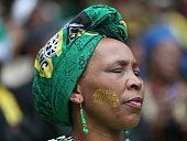 soweto south africa woman with face