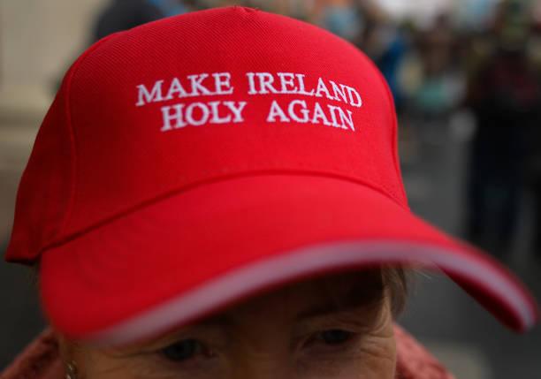 IRL: Anti-Lockdown Rosary In Dublin