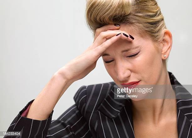Woman with amnesia/migrane