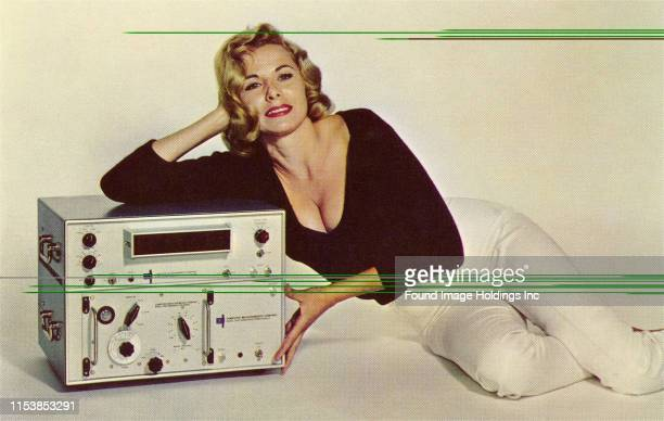 Woman with Amplifier