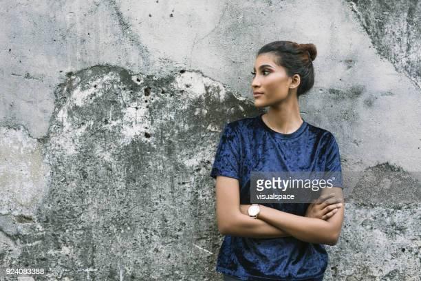 Mujer con actitud