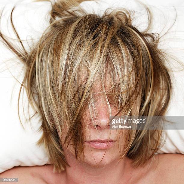Woman with Bed Hair