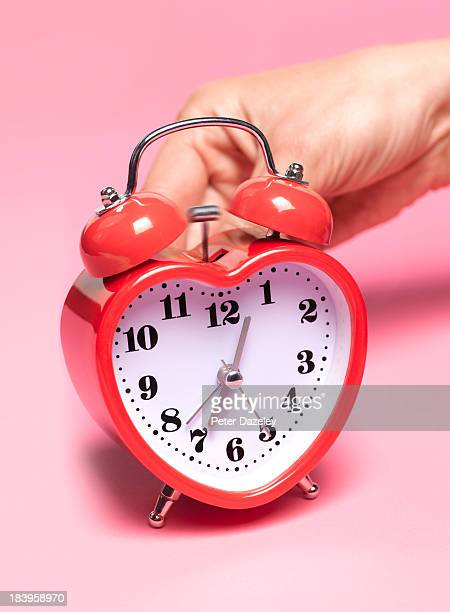 Woman with biological alarm clock