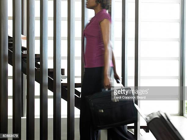 woman with briefcase - heidi coppock beard stock pictures, royalty-free photos & images