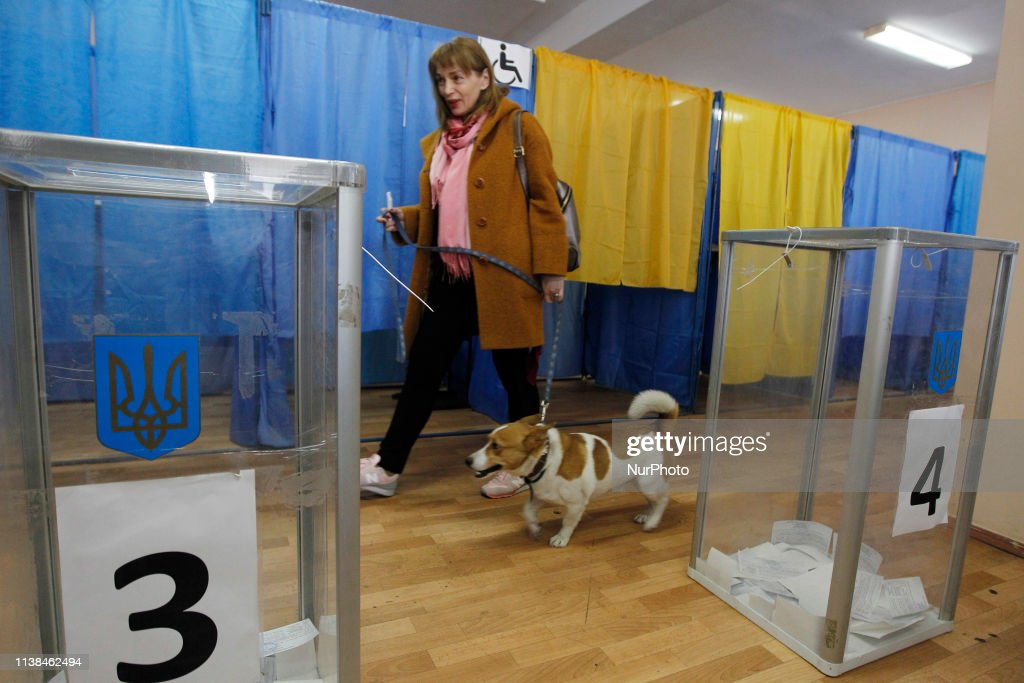 UKR: Ukrainian Presidential Elections In Kiev