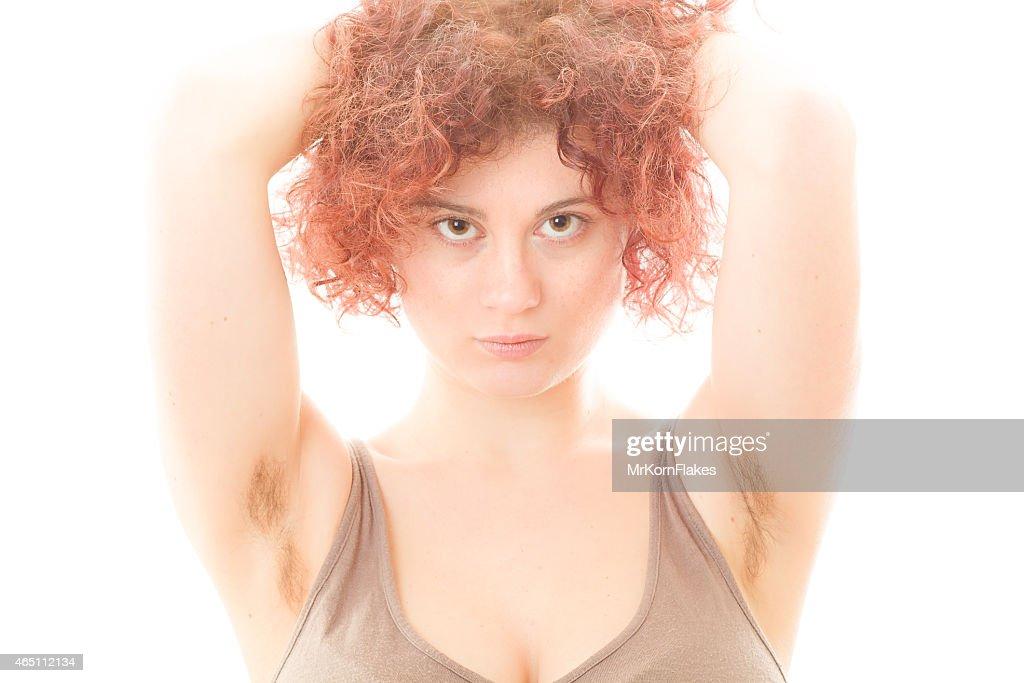 волосатые подмышки девушек
