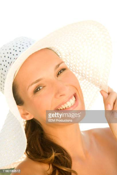 woman with hat - 2010 2019 stock pictures, royalty-free photos & images