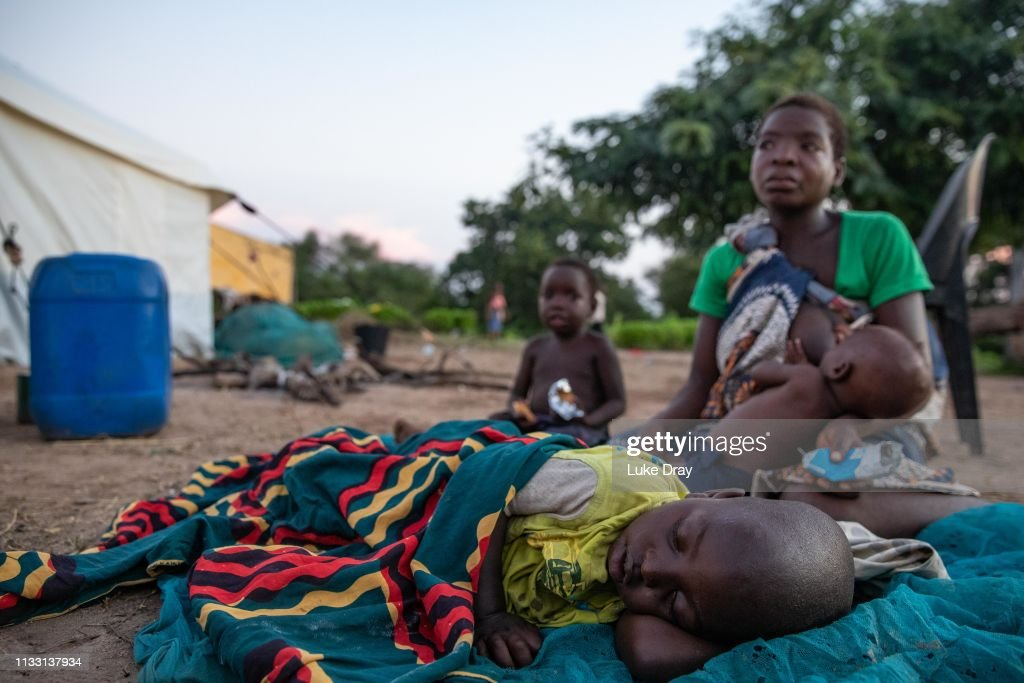 Devastation After Floodwaters Recede In Rural Mozambique : News Photo
